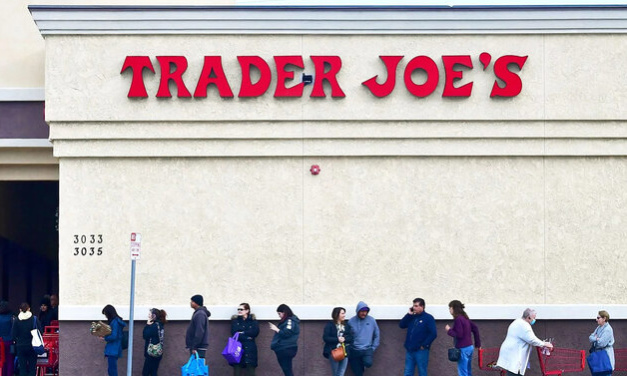 The Pandemic Lockdown Supermarket