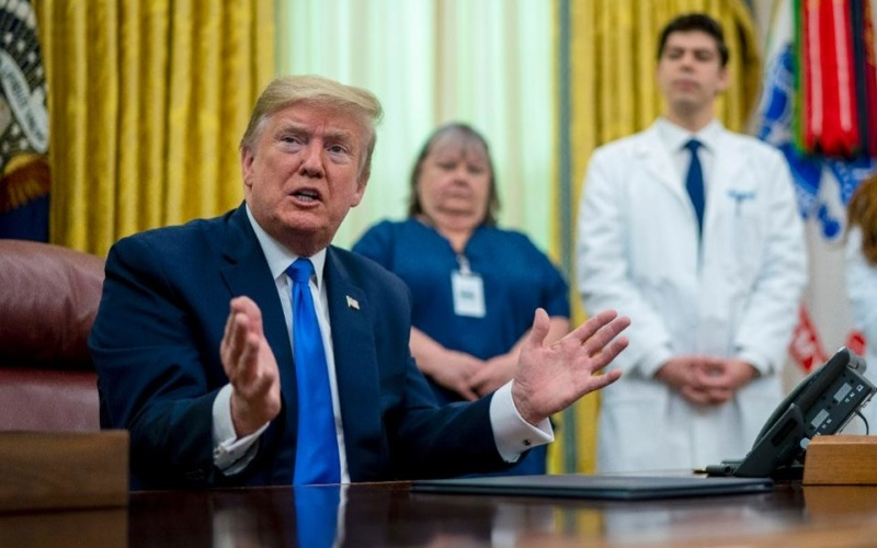 TrumpWatch, Day 1,203: Coronavirus — Trump Backs Off Dismissal of White House Task Force