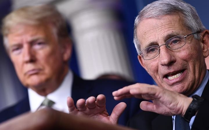 TrumpWatch, Day 1,210: Coronavirus — Trump Challenges Fauci's Medical Expertise