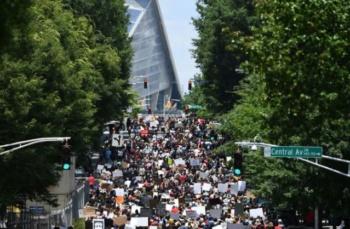 Juneteenth march in Atlanta, Georgia, June 19, 2020 (Chanda Khanna/AFP/Getty)