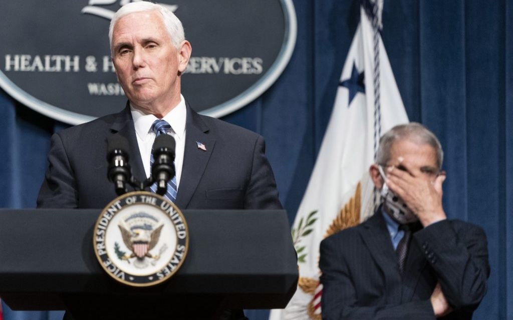 """TrumpWatch, Day 1,254: Coronavirus — Pence """"Truly Remarkable Progress"""" as Daily Cases Top 45,000"""
