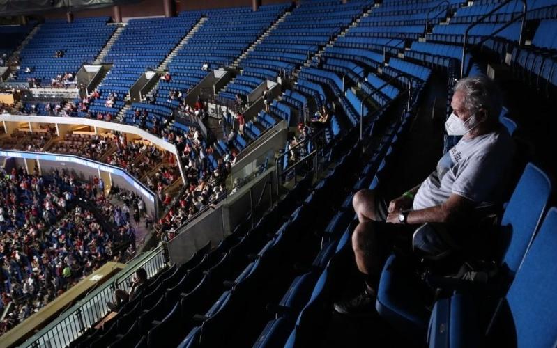 TrumpWatch, Day 1,248: Trump Speaks to 1000s of Empty Seats