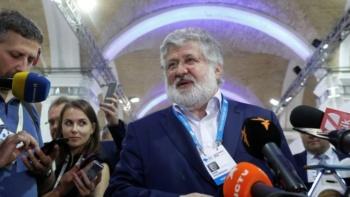 Ukrainian billionaire Igor Kolomoisky, Kiev, September 2019 (Valentyn Ogirenko/Reuters)
