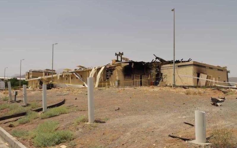 "Iran Acknowledges ""Deliberate Attack"" on Natanz Nuclear Site"