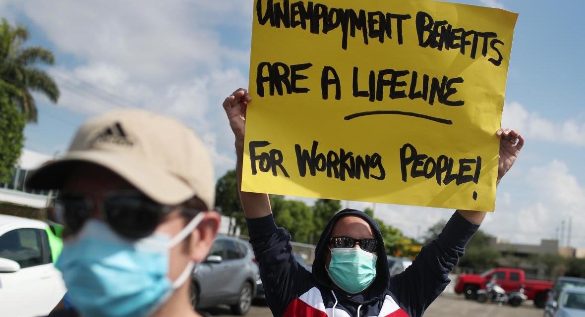 TrumpWatch, Day 1,285: Coronavirus — Republicans Seek 67% Cut in Unemployment Benefits
