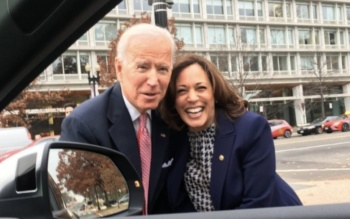 The Democratic Presidential Ticket 2020: Joe Biden and Kamala Harris