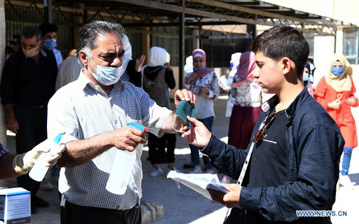 Syria Coronavirus Forecast: 2 Million Cases By End of August