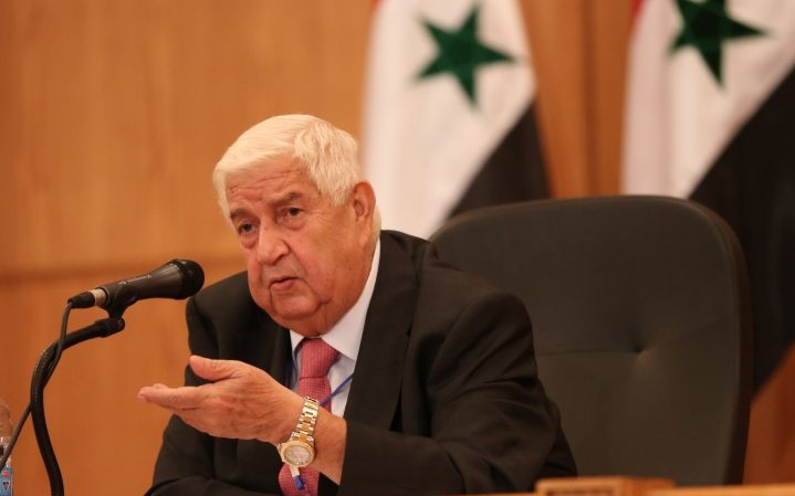 Foreign Minister al-Moallem Dies