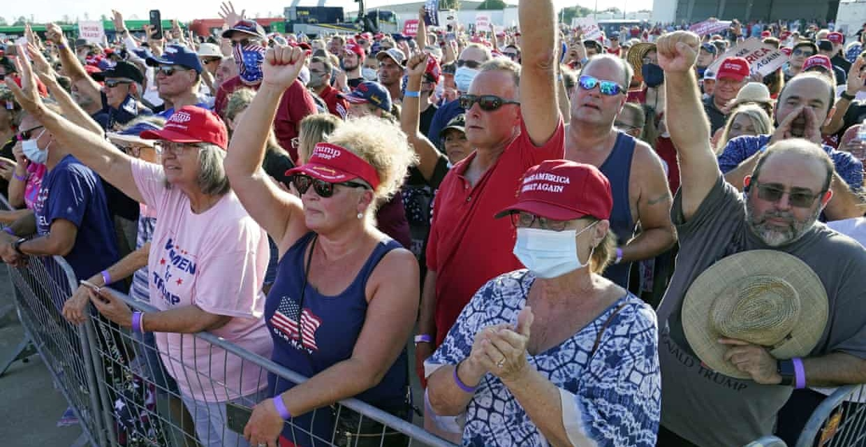 """TrumpWatch, Day 1,362: Fauci, """"Large Rallies Are Asking for Trouble"""" as Trump Rambles at Rally"""