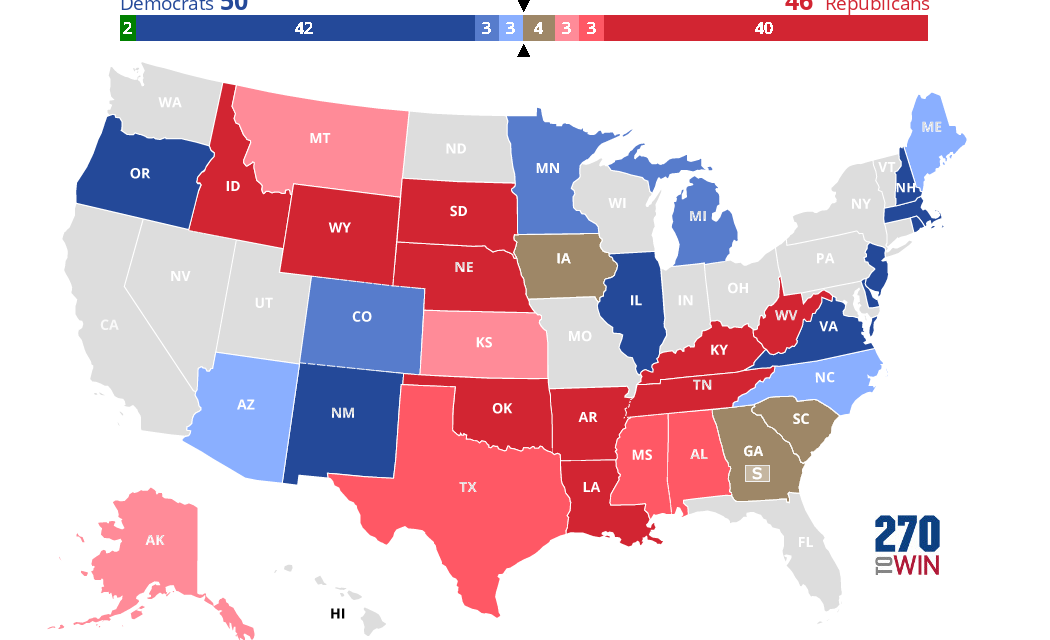 Essential Guide to US Senate Elections — The 13 Key Races