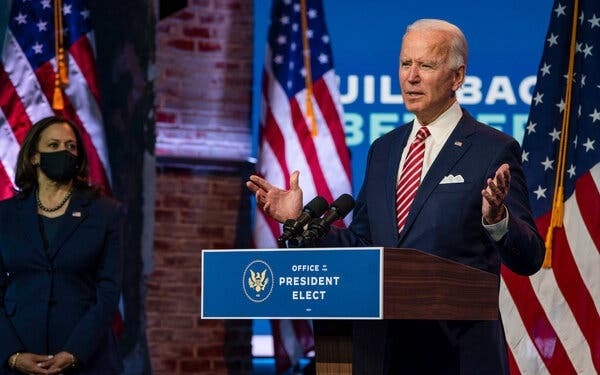 "Biden: ""More People May Die"" If Trump Continues to Block Transition"