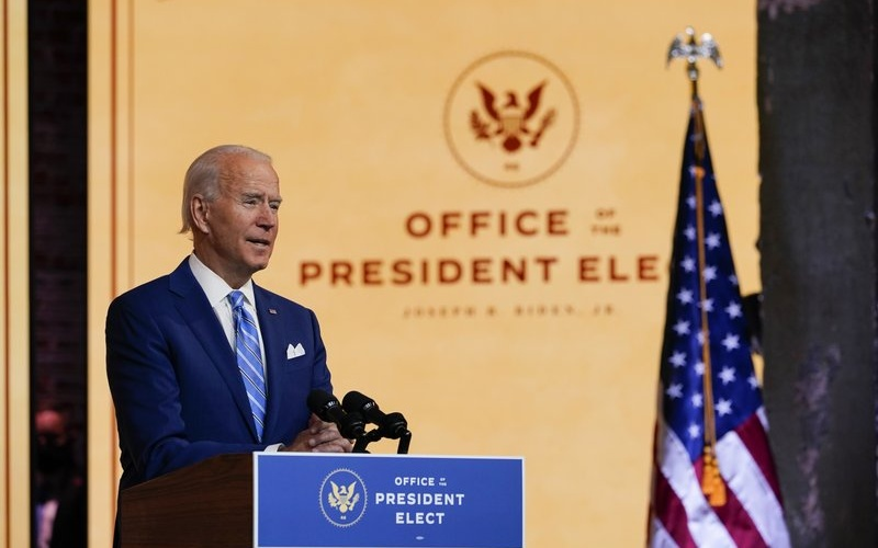 "Biden's Thanksgiving Call for Unity: ""Our Enemy is the Virus, Not Each Other"""