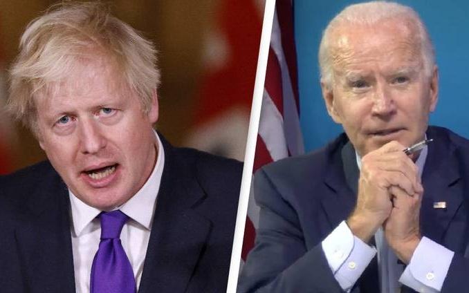 Biden Tears Up Johnson's Mythical US-UK Trade Deal