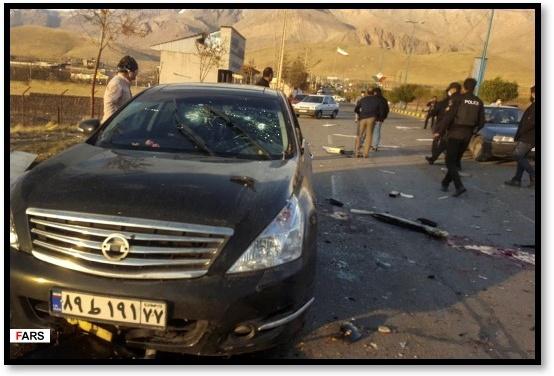 "Iran: ""Nuclear Scientist Killed By Satellite-Guided Remote Control Machine Gun"""