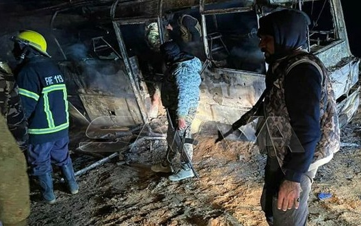 At Least 28 Assad Regime Troops Killed in Suspected ISIS Attack on Bus