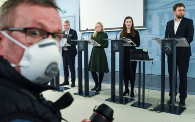 Profiteers of Fear? Finland's Right-Wing Populists and the Coronavirus Crisis