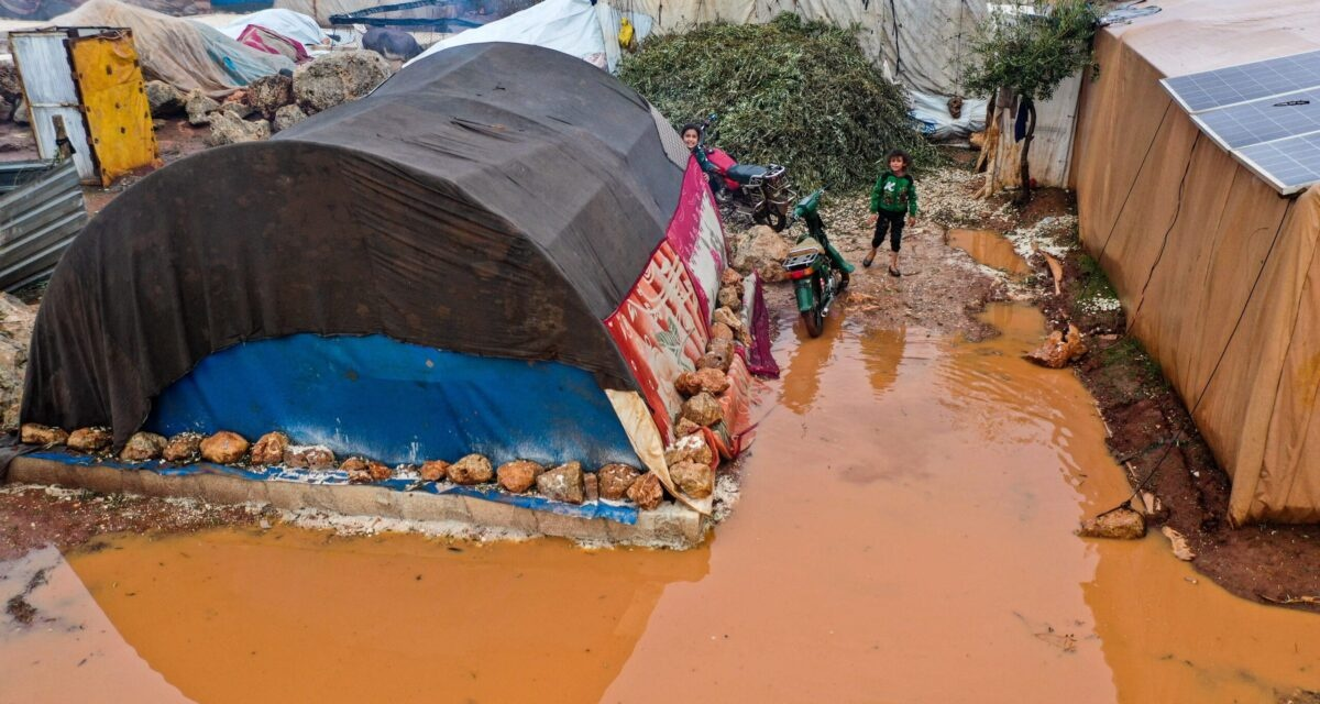 UPDATED: Flooding Takes Homes of 22,000+ Displaced Civilians in Northwest Syria