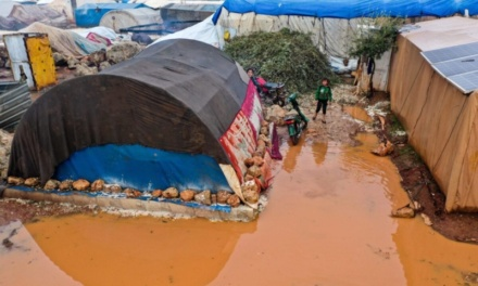 Flooding Threatens Displaced Civilians in Northwest Syria