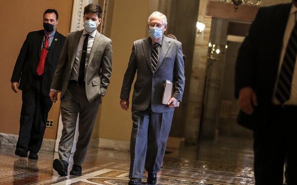 45 of 50 GOP Senators Vote to Dismiss Trump's Incitement of Insurrection
