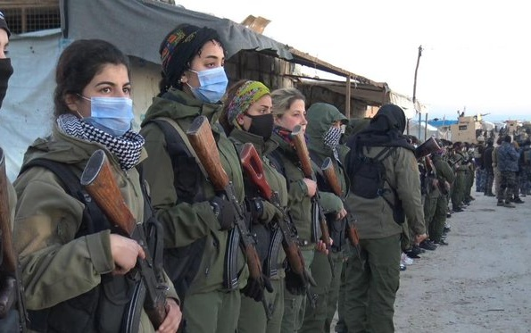 Kurdish Troops Claim Arrest of Islamic State Leaders in Syria's Al-Hol Camp