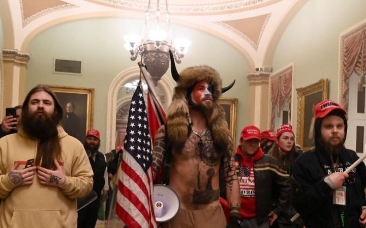 """Trump's """"Attempted Coup"""" as Supporters Storm Capitol"""