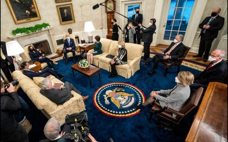 "Biden's Talks with GOP Senators Over $1.9 Trillion ""American Rescue Plan"" - RichDadph Forex Trading Philippines Tutorial for Beginners"