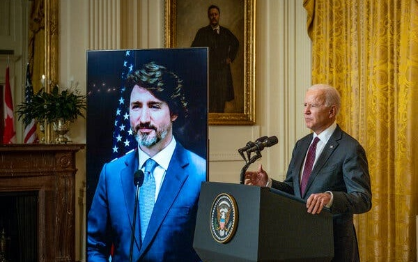 Biden and Trudeau Renew US-Canada Ties