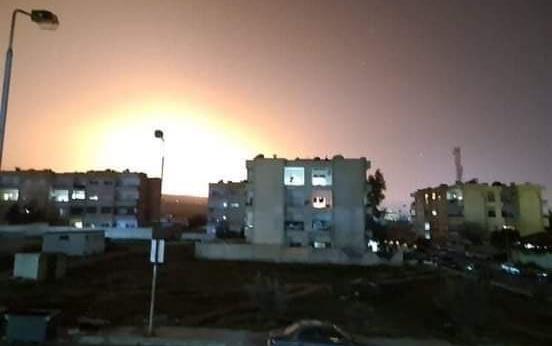 UPDATED: Israel Strikes Again Near Damascus