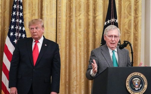The Battle for the GOP: Trump Declares War on McConnell