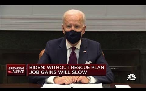 Coronavirus: Biden Administration Pushes American Rescue Plan as Senate Debates