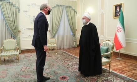 President Rouhani Meets Irish Foreign Minister Amid Hopes for Iran Nuclear Talks