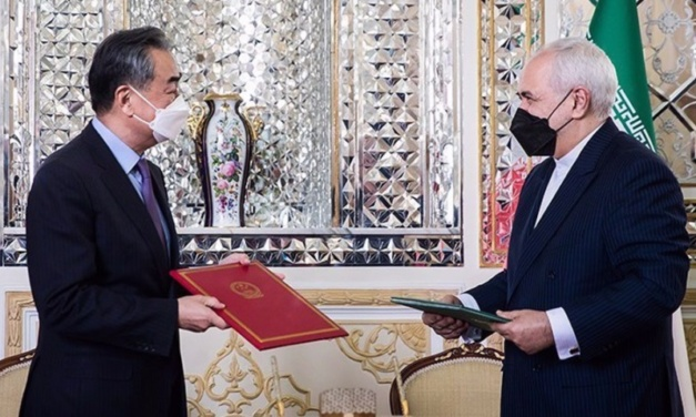 "Iran and China Sign 25-Year ""Road Map"" for Strategic Cooperation"