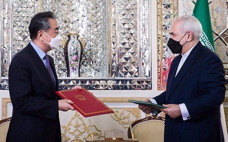 """Iran and China Sign 25-Year """"Road Map"""" for Strategic Cooperation"""