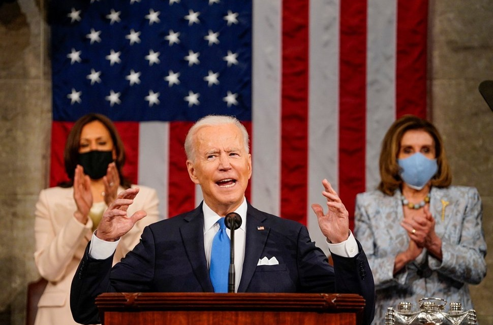 "Biden's ""America Is Rising Anew"" as He Introduces American Families Plan"