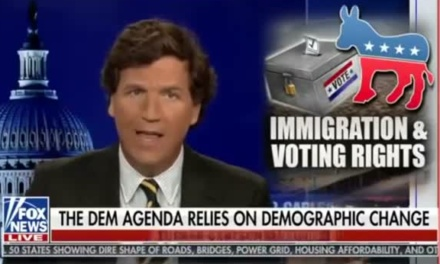 """""""We Must Drive the Stake"""" Through Tucker Carlson's White Supremacy"""