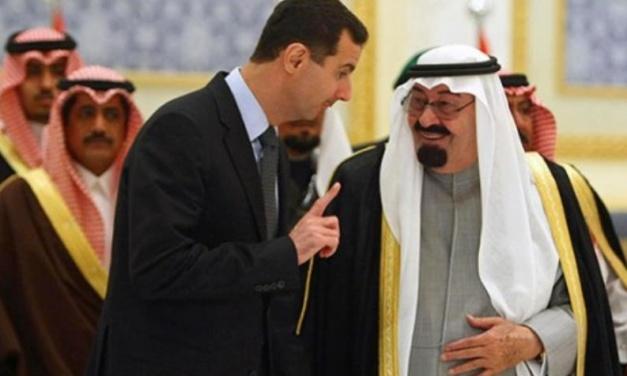 Saudi and Assad Regime Intelligence Heads Meet in Damascus
