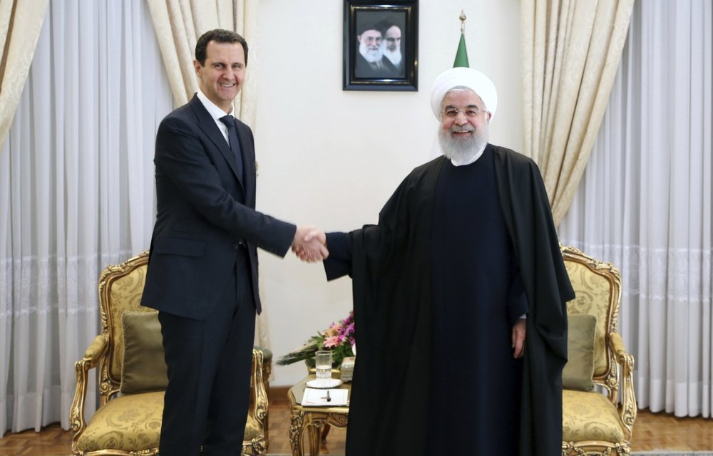 """Iran's Rouhani Congratulates Assad On """"Victory"""" in Syria's """"Election"""""""