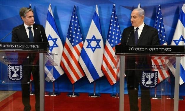 "US's Blinken: ""Let's Talk Gaza Reconstruction"" — Israel's Netanyahu, ""Let's Talk Iran"""