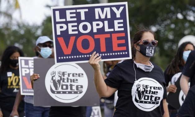 Florida and Texas Republicans Limit Voting Rights