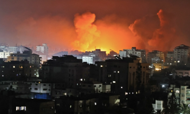 Biden Supports Israel Attacks as Gaza High-Rises Levelled and 10 Killed in Refugee Camp