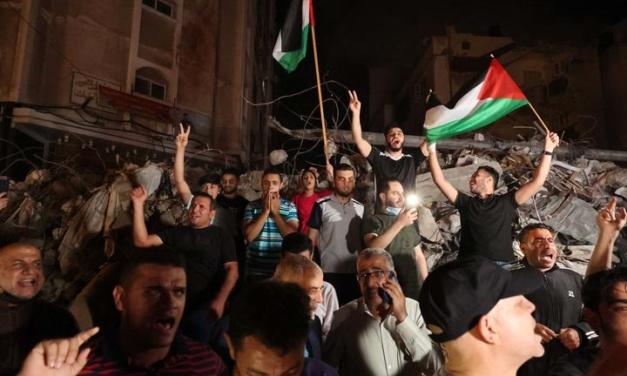 Biden Hails Israel-Hamas Ceasefire, Looks to Rebuilding of Gaza