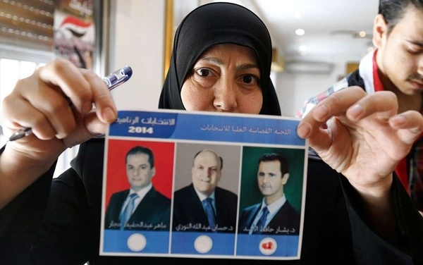 """Two Guys Picked as """"Opponents"""" for Assad in Syria's Presidential """"Election"""""""