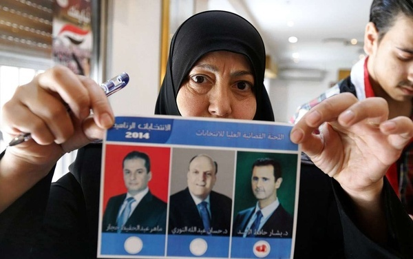 "Two Guys Picked as ""Opponents"" for Assad in Syria's Presidential ""Election"""