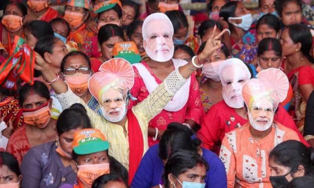 India's Modi Rallies As His People Die From Coronavirus