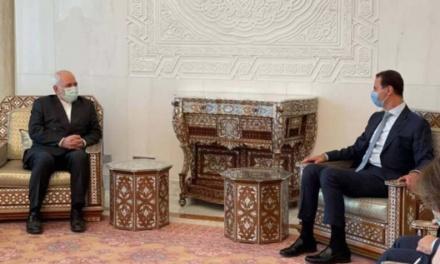 Iran FM Zarif Displays Support for Assad Regime
