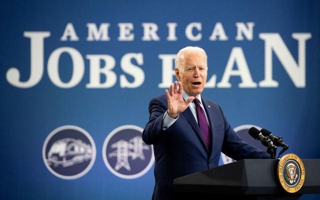 "Biden Promotes ""Generational Investment"" of American Jobs Plan"