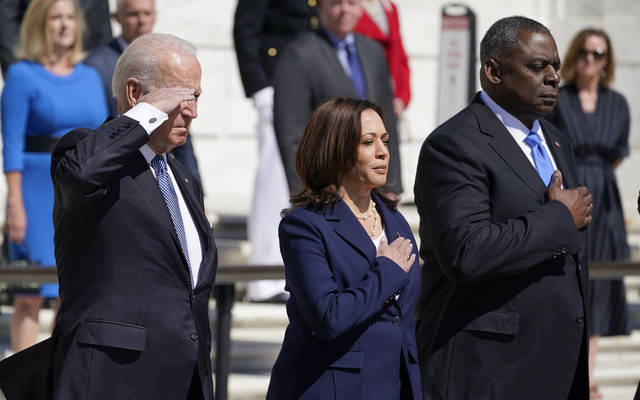 "Biden on Memorial Day: ""Democracy Is In Peril"""