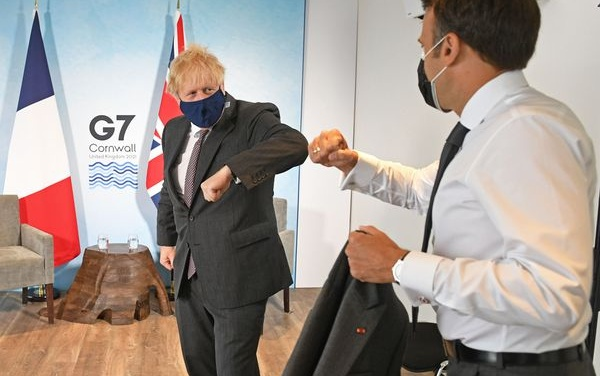 Johnson Cuts Off A Northern Ireland Nose to Spite A Global Face