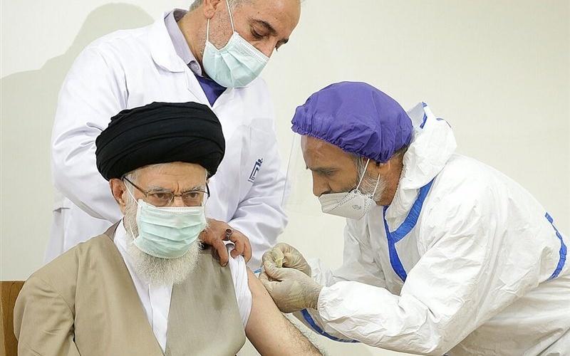 Supreme Leader is 1st Recipient of Iran's Domestically-Produced Coronavirus Vaccine
