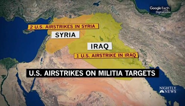 UPDATE: US Airstrikes on Iran-Backed Militias in Syria and Iraq